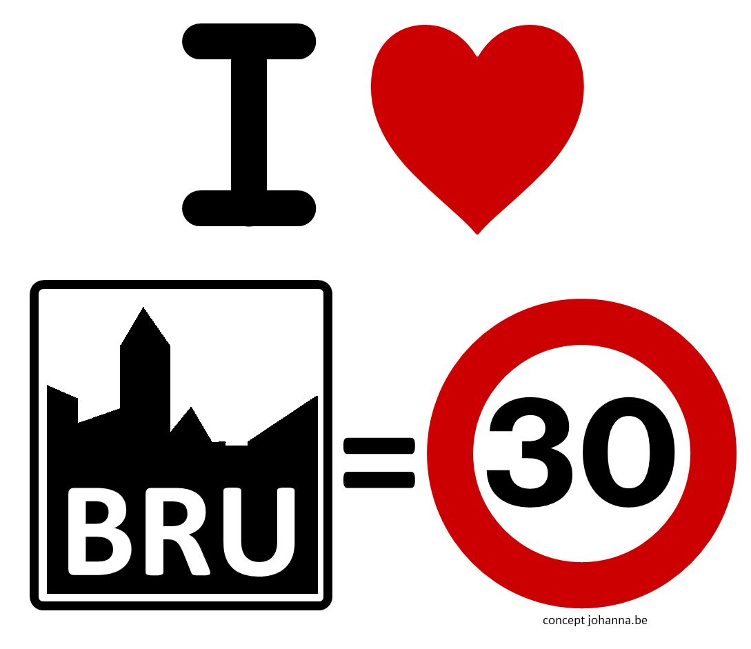 I love Brussels = 30 Logo